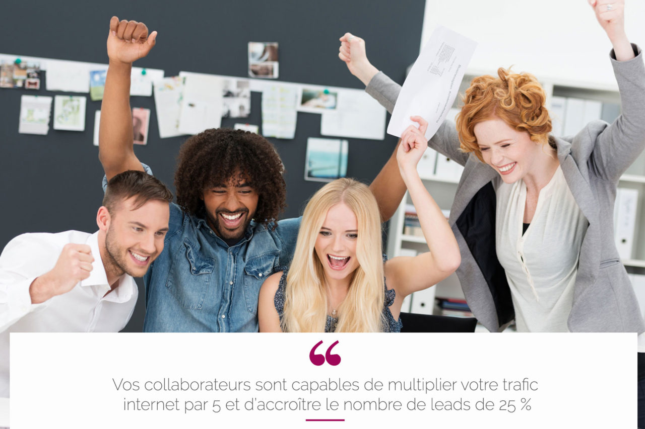 Collaborateurs ambassadeurs des reseaux sociaux